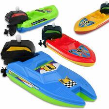 Aufzieh Boot Aufziehboot Badewanne Motorboot Spielzeug Kinder Badespielzeug