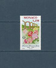 - Monaco   fleurs roses  roseraie  2009  num:  2662    **