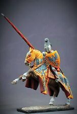 Tin toy soldier 54 mm Superb Elite painting in St.Petersburg.Tournamentl Knight