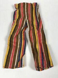 Vintage Barbie KEN Doll 192 WESTERN WINNER PANTS 3378 Clothing Striped