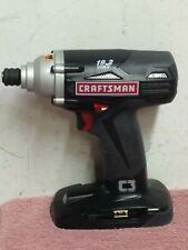 """Genuine OEM Craftsman C3 ~ 19.2 Volt  Impact Driver 1/4""""  Bare Tool ~ 315.116060"""