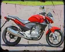 Honda Cb 300R 2 A4 Metal Sign Motorbike Vintage Aged
