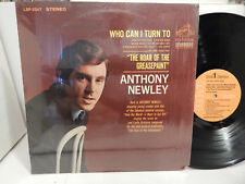 Anthony Newley Who Can I Turn to Roar of the Greasepaint 1965 Shrink LSP-3347 LP