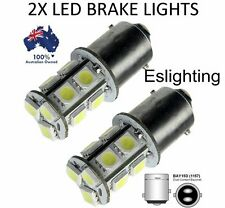 2 X BAY15D SMD 5050 LED BRAKE STOP TAIL LIGHT BULB GLOBE 12V LIGHT CAR UTE 4WD