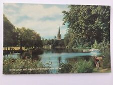 Dr Jim Stamps Holy Trinity Church Stratford On River Avon Uk Postcard A12