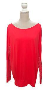 Nike Dri-Fit Running Women's Long Sleeve Pullover Shirt Size XL Jersey Sweater