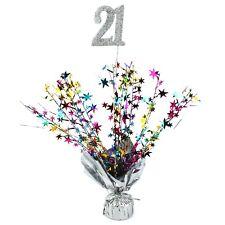 21st Birthday Balloon Weight Spray Table Decoration Stars Party Supplies