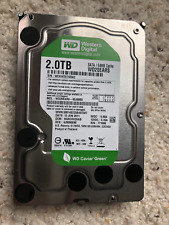 "Lot of 3 - Western Digital Green 2TB, Internal, 7200 RPM, 3.5"" (WD20EARS)"