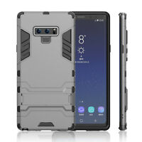 Military Shockproof Ultra Slim Kickstand Armor Case F Samsung Note 9/8 S9 S8 S7