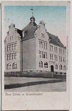 30089 AK Großröhrsdorf OL Neue Schule 1905