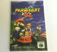 Mario Kart 64 N64 Game Instruction Booklet Manual Only Nintendo 64 Very Good