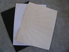 Sizzix Tim Holtz RAYS embossed card panel