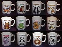 PERSONALISED FUNNY ANIMAL IDIOMS MUG CUP BIRTHDAY XMAS GIFT - 20 + TO CHOOSE