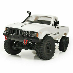WPL RC Truck C24-1 1:16 4x4 4WD Scale Crawler Pickup Off Road RTR Car R/C White