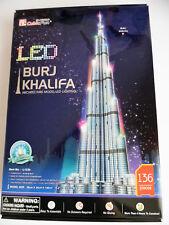 3D Puzzle Burj Khalifa LED /2.Wahl/B-Ware/ H: 146cm Cubic Fun Licht Light Dubai