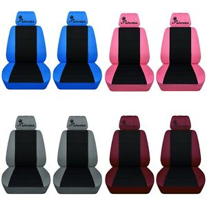 Car SUV seat covers Honda Accord Civic CRV Custom Design Princess 22 Colors ABF