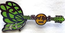 Hard Rock Cafe On Line Green Tattoo Butterfly Guitar '11 - LE 50 Pins