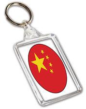 China Chinese Flag Keyring Gift Birthday Christmas - Stocking Filler