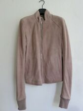 """NWT $3250 RICK OWENS """"MADE IN ITALY"""" LIGHT BROWN LEATHER JACKET sz EU 46"""