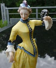 """Nymphenburg Figur Bustelli """" Colombine """" !!! Commedia dell àrte  !!!"""