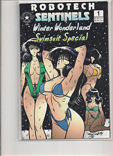 Robotech Sentinels Winter Wonderland Swimsuit Special #1 1st Print Comic Book.