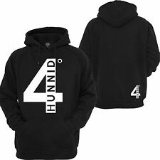 4 Hunnid Degreez Hoodie YG West Coast Taylor Gang NWA Compton Hooded Sweatshirt