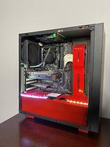 Gaming PC i7 6700k 4.1 GHZ, GTX 1050, 8GB DDR4 RAM, 256GB SSD, CPU Liquid Cooler