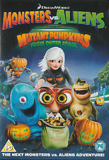 Monsters Vs. Aliens: MUTANT PUMPKINS from Outer Space Region 2 *New & SEALED*