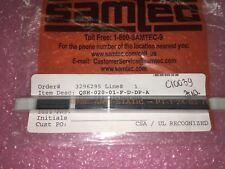 (5 PIECE LOT) QSH-020-01-F-D-DP-A, SAMTEC, .5MM DOUBLE ROW MI SOCKET ASSEMB RoHS