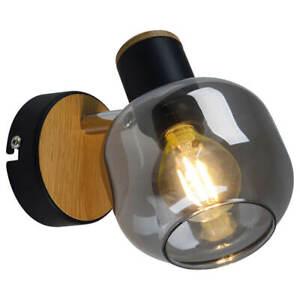 Wandspot Wandleuchte Fumoso Glas smoking glass Spot E14 max.40W  Naeve