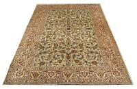 Large Traditional Carpet Hand Made Vintage Oriental Wool Area Rug 265 x 350 cm