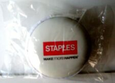 STAPLES EARBUDS & USB LIGHTER CAR ADAPTER>NEW IN WRAPPER/ZIPPER CASE>FREE US SHP