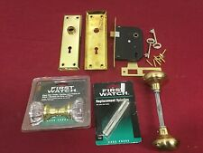 Mortise Bit Key Lock Reproduction & Assorted Mortise Lock Parts - Locksmith