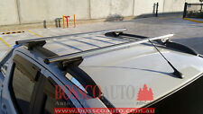 Silver Roof Racks with Roof rail type mounting for Utes
