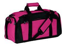 Port & Company Tek Gym Bag Pocket Duffle Workout Training Bag Sport Duffel BG97