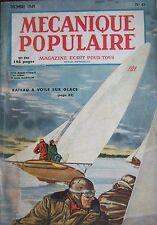REVUE MECANIQUE POPULAIRE N° 043 ERE ATOMIQUE PILOTE FUSEE NAVIRE PLONGEE 1949