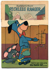 Huckleberry Hound 13 FR 1.0 Title Stripped Dell 1961 Pixie Dixie Hokey Wolf