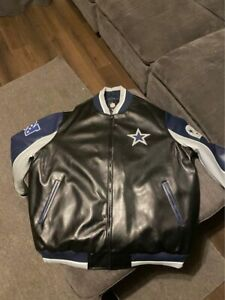 Dallas Cowboys Leather Jacket 4xl