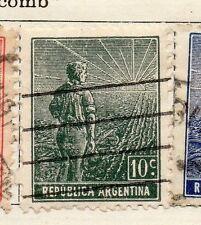 República Argentina 1912 antiguo problema fina con bisagras de menta 10c. 087414