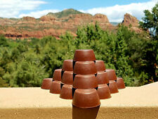 6 Red Rock Sedona Vortex Pucks - Orgonite® Tower Busters - Orgone Generator®