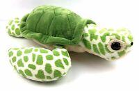 "Wildlife Artists Green Sea Turtle Stuffed Animal 14"" Plush Soft Cuddly Ocean"