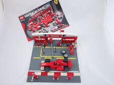 LEGO 8375 Racer Ferrari F1-Pit Set + original Bauanleitung (#83)