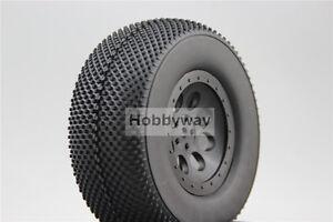 4pcs RC 1/10 Short Course Tire Tyre Set  SC Tire For TRAXXAS SlASH 29002+29505