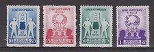 Indonesia Indonesie 200 - 203 MLH ong 1957 Dag van de Cooperatie