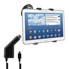 kwmobile Auto Halterung für Samsung Galaxy Tab 4 10.1 + Ladegerät Kfz Halter