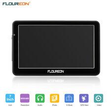 FLOUREON 7 ''capacitif LCD écran tactile voiture GPS Navigation SAT 8Go Noir FR
