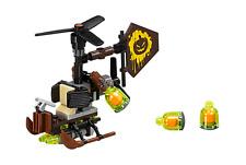 LEGO THE BATMAN MOVIE HELICOPTERO DEL SET 70913 PIEZAS Y ACCESORIOS STEAMPUNK