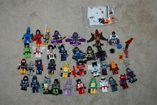 HUGE LOT OF 34 KRE-O TRANSFORMERS ACTION FIGURES AND ACCESSORIES AUTOBOTS Decep