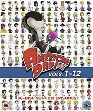 American Dad! Complete Season series 1+2+3+4+5+6+7+8+9+10+11+12 DVD Box Set New