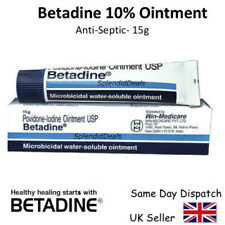 Betadine Povidone-iodine 10 First Aid Antiseptic Ointment Wound Burn - 15g